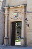 Archiepiscopal palace. Otranto. Puglia. Italy.
