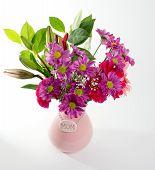 Flores do dia da mãe-de-rosa