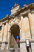 St. Biagio Gate. Lecce. Puglia. Italy.