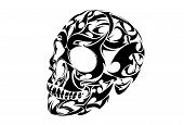 Tribal Tattoo Skull vector design