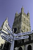 Gloucester Cathedral and Ages of Nuclear Power Plants