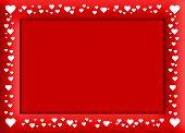 Velentine's Red Frame