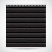 Siding Texture Panel Black Color