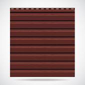 Siding Texture Panel Brown Color