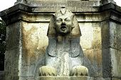 France, Paris: Sphynx Sculpture At Chatelet
