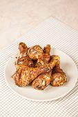 Delicious Grilled Chicken Drumsticks