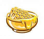 Tub of honey