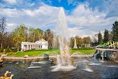 Fountain in Peterhof