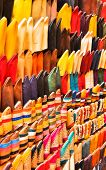 Sapatos marroquinos tradicionais