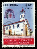 Church Of The Veracruz, National Pantheon, Colombia