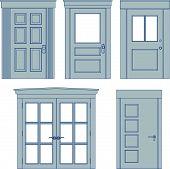 Five Doors - Blueprints