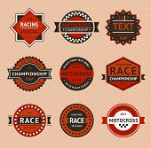 picture of moto-x  - Racing badges  - JPG