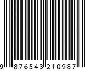 foto of barcode  - Isolated black vector barcode on white background - JPG