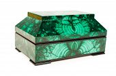 Malachite Treasure-box