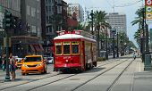 Cable Car In New Orleans