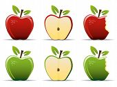 Постер, плакат: Яблоки