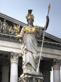 Athena Statue Vienna Hdr