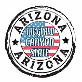 Arizona, The Grand Canyon State Stamp