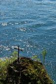 Cross At Lake