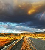 foto of pampa  - Storm over the Pampas - JPG