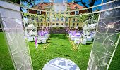 picture of manor  - Wedding ceremony at Manor house in Malpils Manor Latvia - JPG