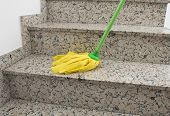 Yellow Mop Cleaning