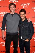 LOS ANGELES - NOV 6:  Derek Theler and Jean-Luc Bilodeau at the CRUSH by ABC Family Clothing Line Launch at London Hotel on November 6, 2013 in West Hollywood, CA