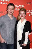 LOS ANGELES - NOV 5:  Sterling Knight, Taylor Spreitler at the CRUSH by ABC Family Clothing Line Lau