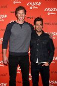 LOS ANGELES - NOV 6:  Derek Theler, Jean-Luc Bilodeau at the CRUSH by ABC Family Clothing Line Launc