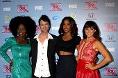 LOS ANGELES - NOV 4:  Lillie McCloud, jeff Gutt, Kelly Rowland, Rachel Potter at the 2013