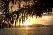 Samoa Sonnenuntergang