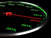 Speedometer Of The New Year
