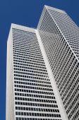 Aluminum skyscraper