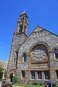 pic of freemasons  - exterior of Epworth church in Norfolk - JPG