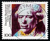 Postage Stamp Germany 1992 Georg Christoph Lichtenberg, Physicist