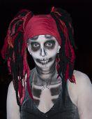 Voodoo Skeleton Goddess