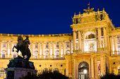 Hofburg Palace By Night, Vienna
