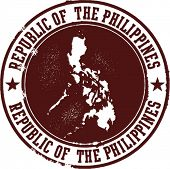 Republic of the Philippines Stamp