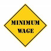 Minimum Wage Sign