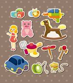 stock photo of barbie  - Toy Stickers - JPG