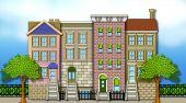 Apartment Row Houses
