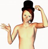 mad hatter 3d