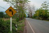 Traffic Sign Turn Left