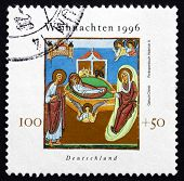 Postage Stamp Germany 1996 Nativity, Christmas