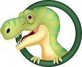 Dinosaur cartoon character