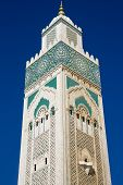 The Mosque of Hassan II in Casablanca