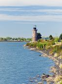 Clover Island Lighthouse. Kennewick, Wa