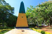 Brazilian Obelisk Triple Frontier, Brazil, Argentina, Paraguay