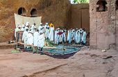 Worship In Lalibela Complex