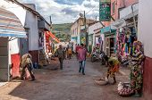 The Streets Of The Old City Of Harar